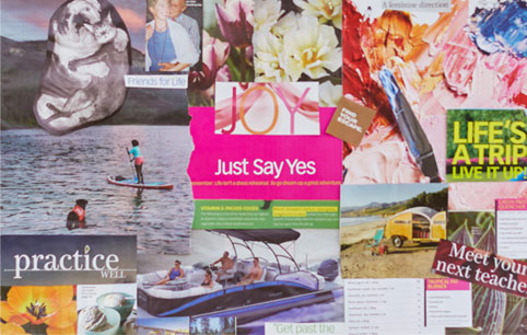 Toni B Yoga Vision Boards