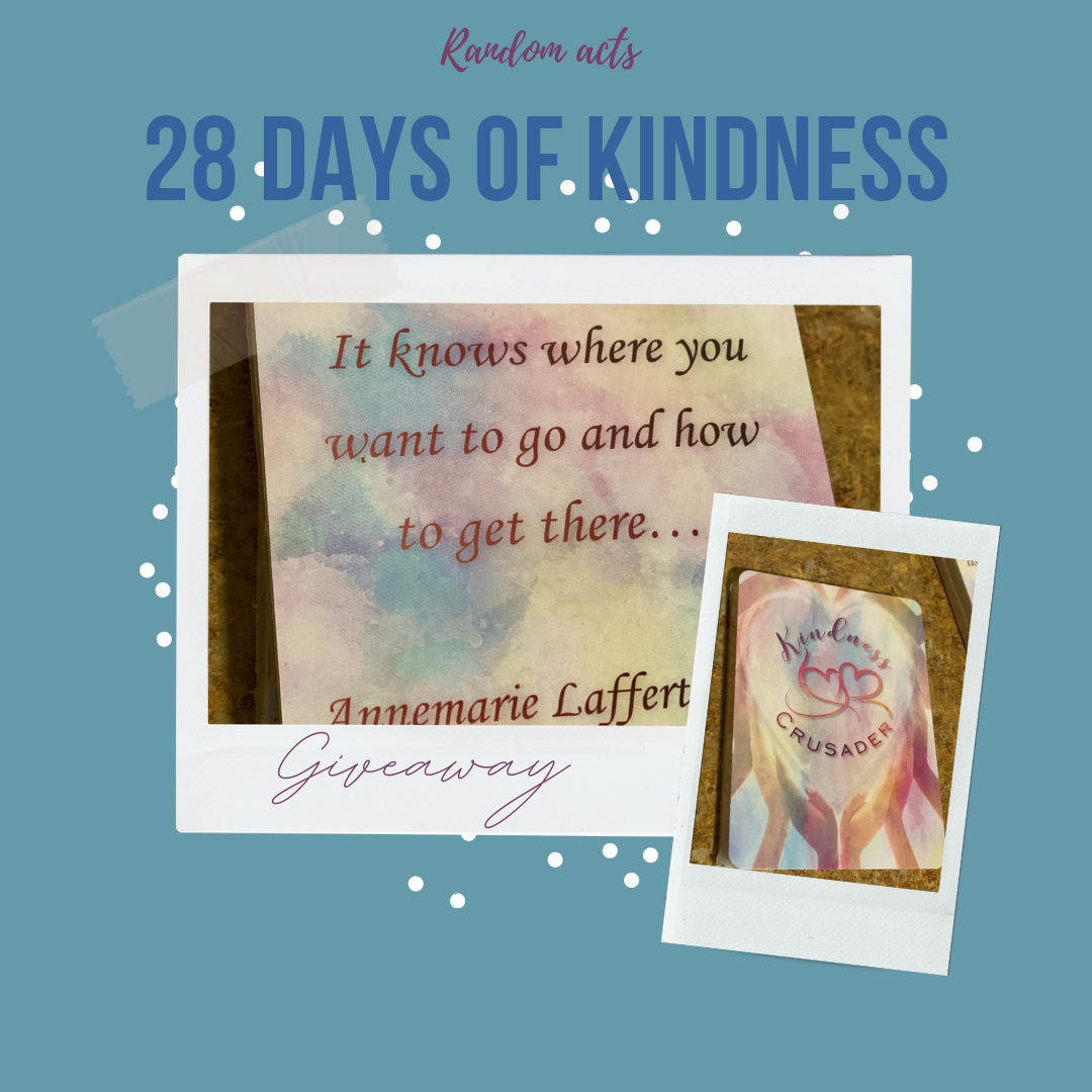 Kindness Cards Giveaway announced